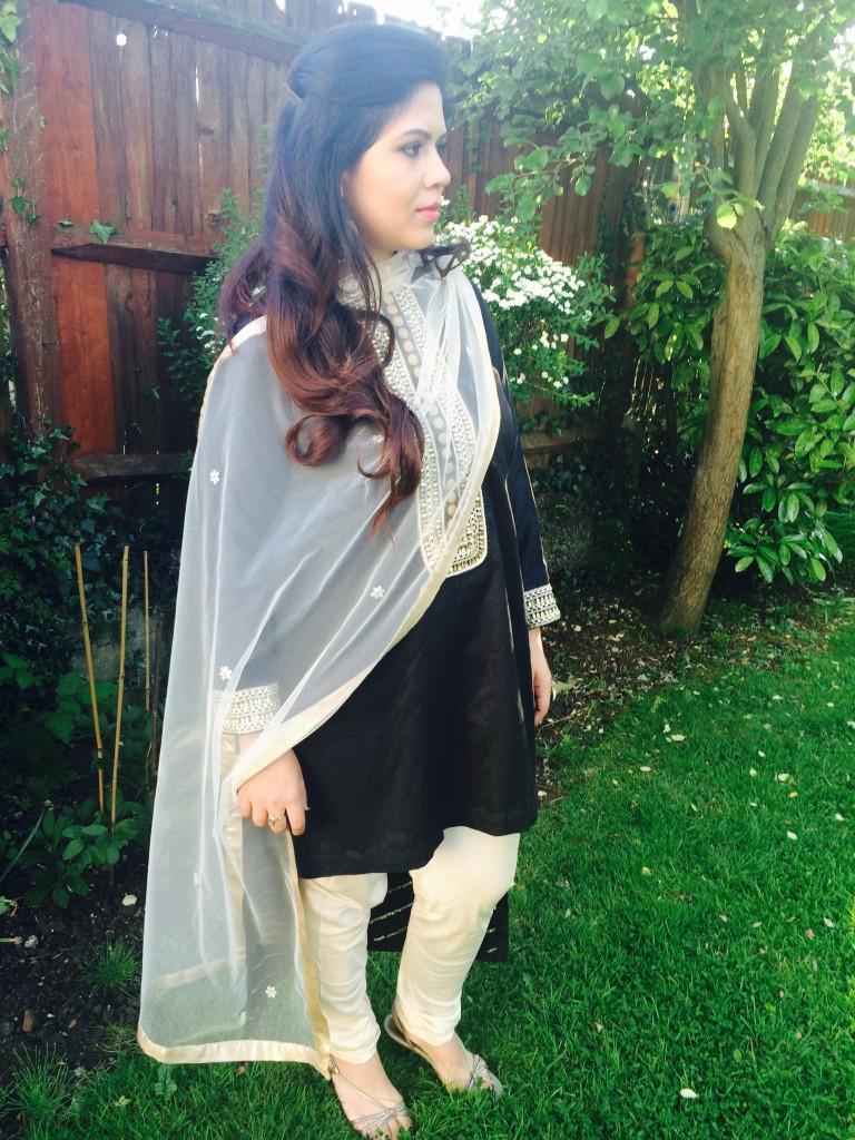 Indian asian fashion blogger