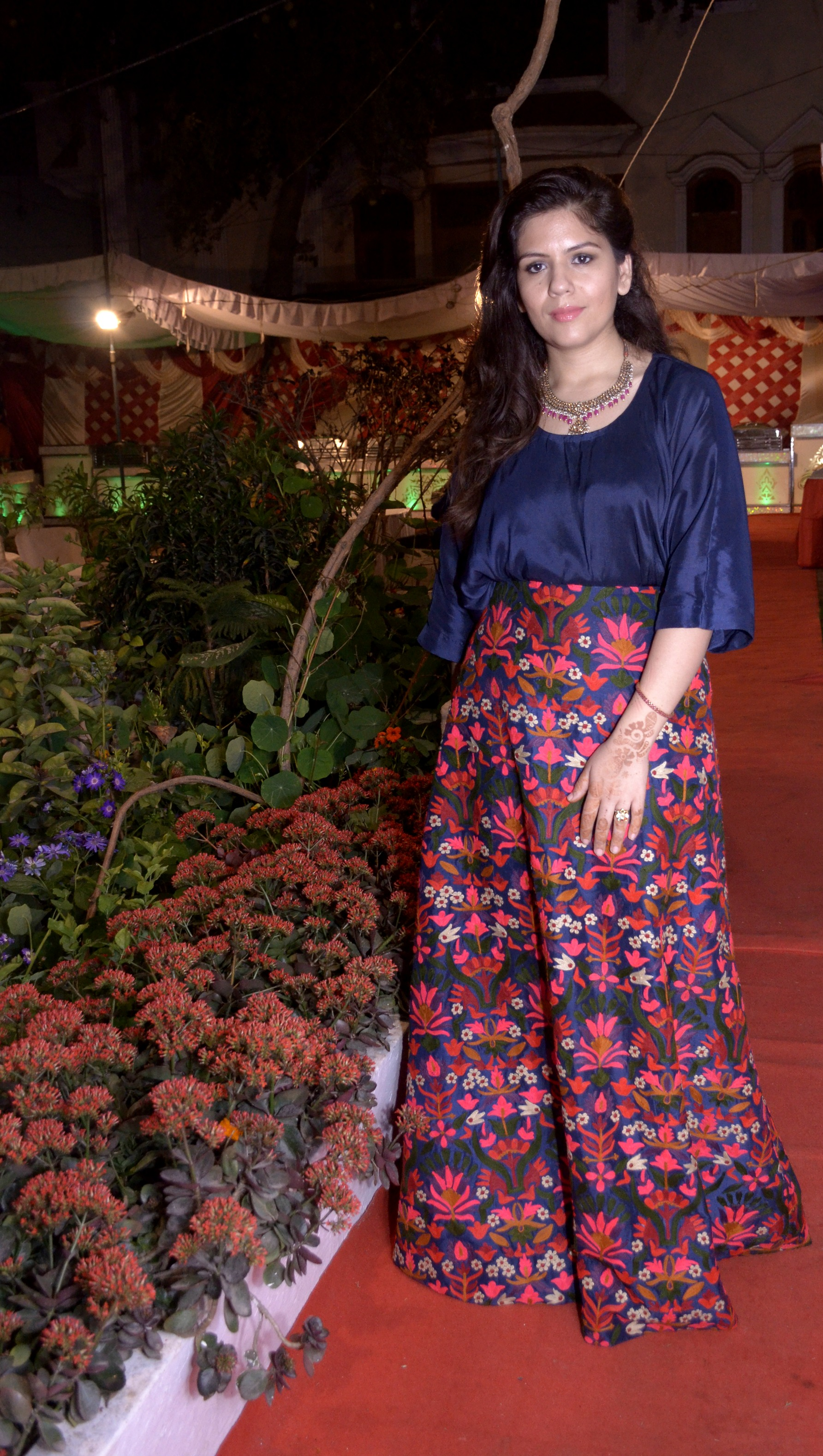 Indian wedding reception lehnga skirt wedding blog London