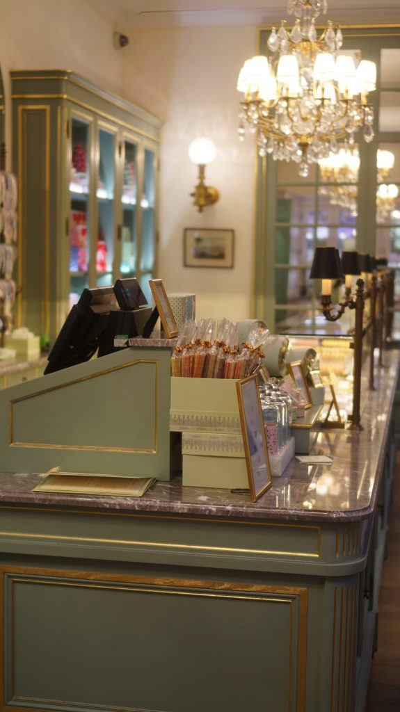 Parisian tea room laduree fashion Blog Indian girl UK