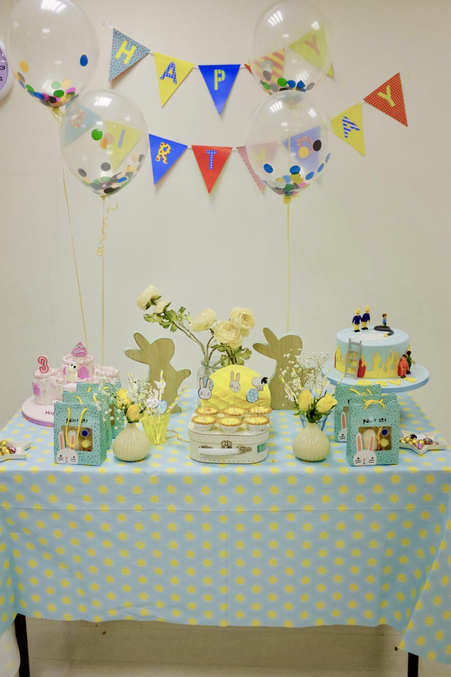 Birthday Party Decor Ideas For Little Boys